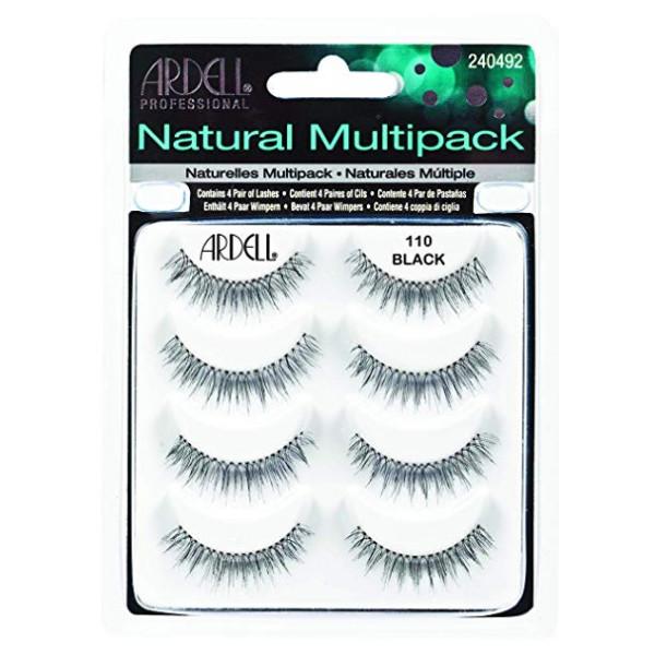 110 Natural Black Lashes pack 5Pcs