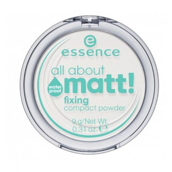 all about matt! fixing compact powder waterproof