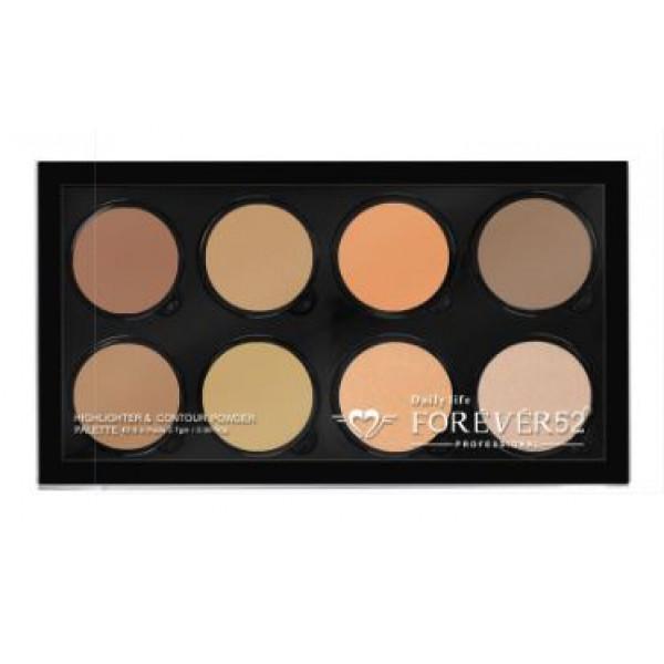 8 color contour powder FHC002