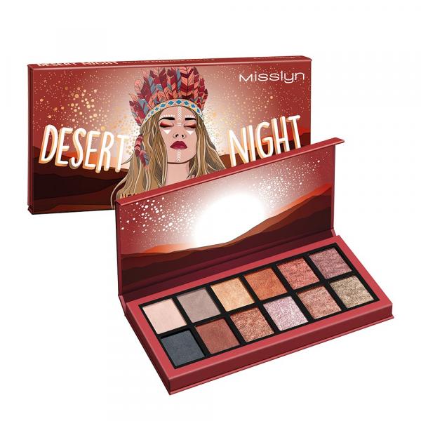 Eyeshadow Palette Desert Night Metallic Burning Desire 04
